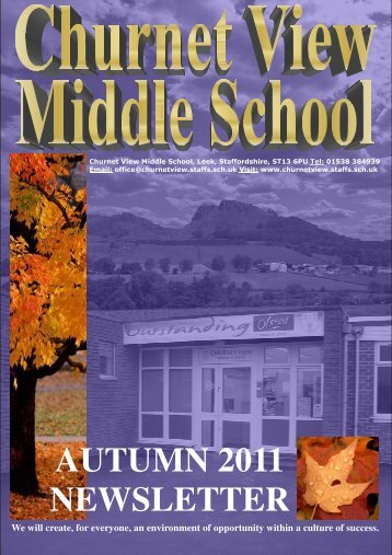 Newsletters_files/Autumn Newsletter 2011.pdf - Churnet View ...