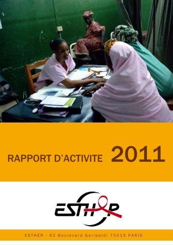 Le rapport d'activité 2011 - Esther