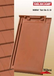 Laying the NIBRA® flat tile G 10. - Nelskamp