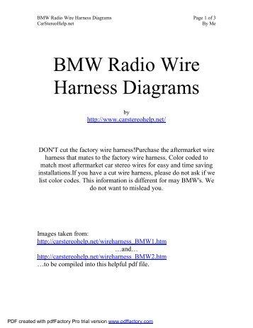 BMW G450X Wiring Diagram v13 Hex Code