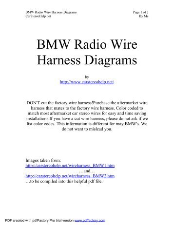 bmw radio wire harness diagrams?quality\=85 e46 radio wiring diagram wiring diagram shrutiradio  at aneh.co