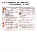 Formziegel und Zubehör des Flachdach-Ziegels F 13 ... - Nelskamp - Seite 2