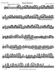 Reed Quintet 2 - Parnasse.com