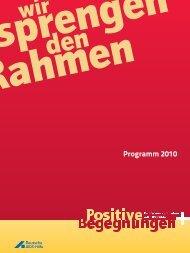 Programm 2010 - Deutsche AIDS-Hilfe
