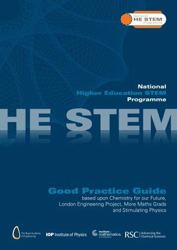 HE STEM Good Practice Guide - Bristol ChemLabS