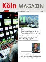 Köln Magazin 4/07 - InnovationsAllianz