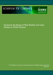 Role Models and Case Studies - National HE STEM Programme