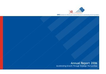 Annual Report 2006 - BIRD Foundation