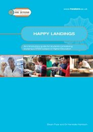 HAPPY LANDINGS - National HE STEM Programme