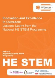 Innovation and Excellence in Outreach - National HE STEM ...