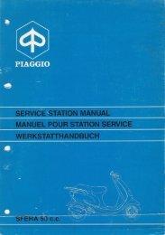 PIAGGIO SERVICE STATION MANUAL MANUEL ... - onetbsd.de