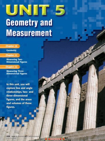Chapter 10: Geometry - Commack Union Free School District