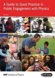 A Guide to Good Practice in Public Engagement with Physics