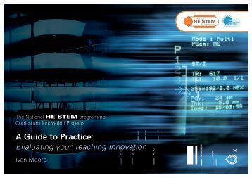 """""""A Guide to Practice: Evaluating your Teaching Innovation"""", by Ivan ..."""