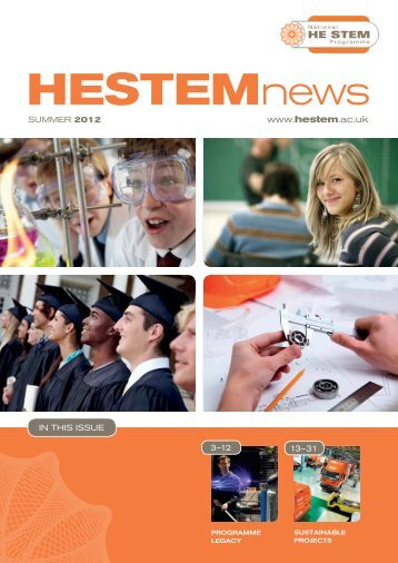 Summer 2012 - National HE STEM Programme