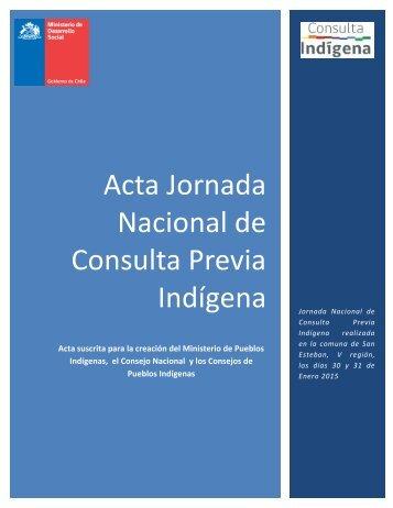 ACTA Ministerio y Consejo 30-03-2015