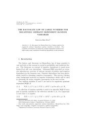 THE BAUM-KATZ LAW OF LARGE NUMBERS FOR NEGATIVELY ...