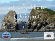 2013 Paddle to Quinault