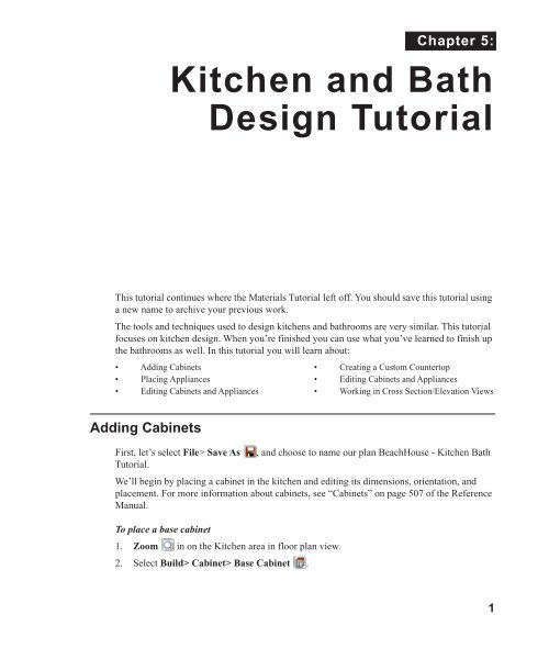 Kitchen and Bath Design Tutorial - Home Design Software