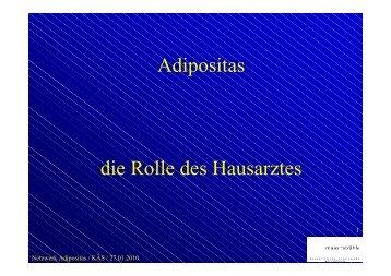 Hausarzt und Adipositas (Maas