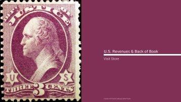 U.S. Revenue Stamps & Back of Book