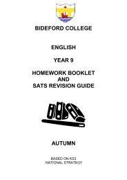 english - Bideford College Online