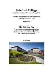 June to 11 - Bideford College Online