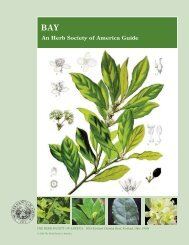 Bay Guide 2009:Layout 1.qxd - The Herb Society of America