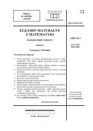 Matematyka - Matura - Eros