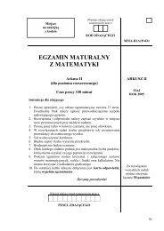 Matematyka - Matura - Maj 2005 - Arkusz 2.pdf - Eros