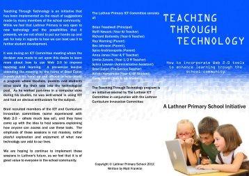 Teaching Through Technology - Workshop brochure [PDF, 1.40MB]