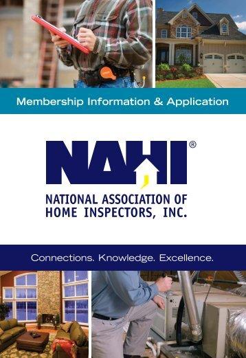 Membership Information & Application - NAHI
