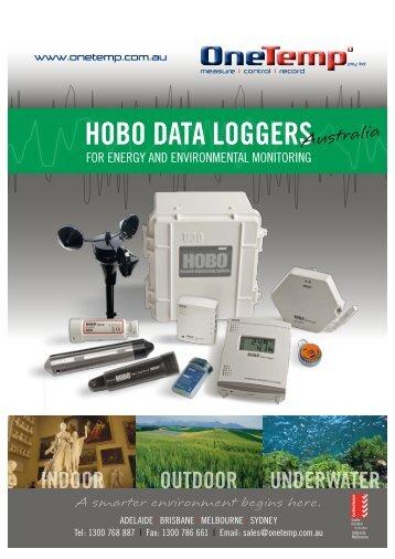 HOBO DATA LOGGERS - OneTemp
