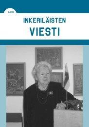 8/2009 - Suomen Inkeri-liitto ry