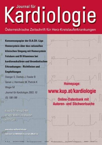 Konsensuspapier der DACH.-Liga Homocystein über den ...