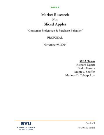 Exhibit B.pdf - Applicant seeking PhD in Marketing :: Monte Shaffer