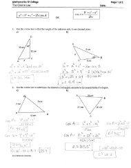 Extra Practice - Sine Law and Cosine Law pdf - RHHS - Math
