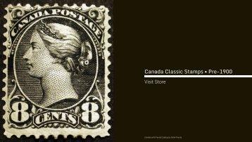 Canada Classic Stamps • Pre-1900