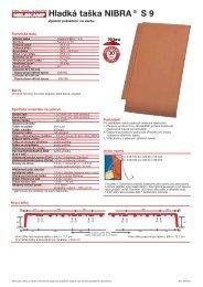 Hladká taška NIBRA® S 9 - Nelskamp