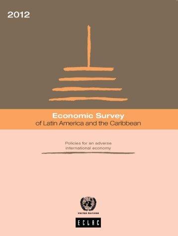 Economic Survey of Latin America and the Caribbean 2012