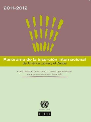 Panorama de la inserción internacional de América Latina y el Caribe 2012