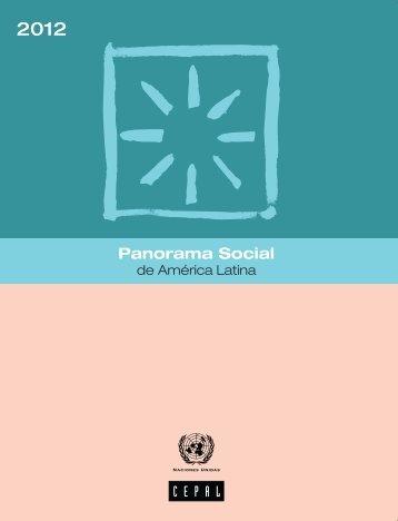 Panorama Social de América Latina 2012