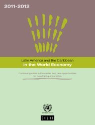 Latin America and the Caribbean in the World Economy 2012