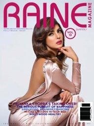 RAINE MAGAZINE Volume 19   Hollywood & Glamour