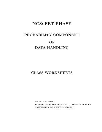 Probability Worksheets - Maths Excellence