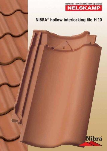 Laying the NIBRA® hollow interlocking tile H 10. - Nelskamp