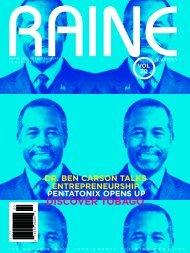 RAINE MAGAZINE Volume 20 | Innovate