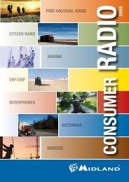 CITIZEN BAND MARINE VHF/UHF INTERPHONES Various ...