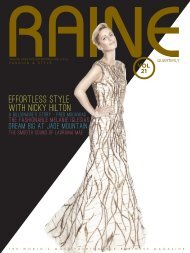 RAINE MAGAZINE Volume 21 | Fashion & Style