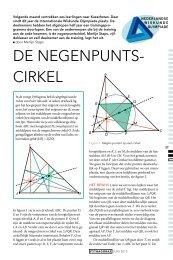 De negenpuntscirkel - Nederlandse Wiskunde Olympiade